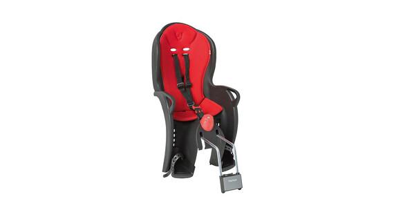Hamax Sleepy kinderfietsstoel rood/zwart